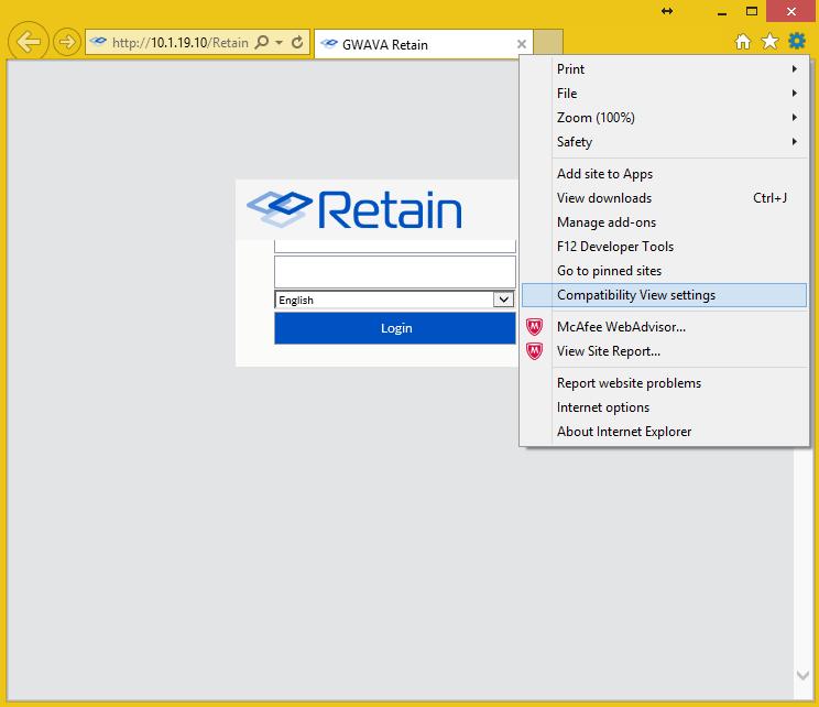Retain Login Screen Logo Overlaps Name Field